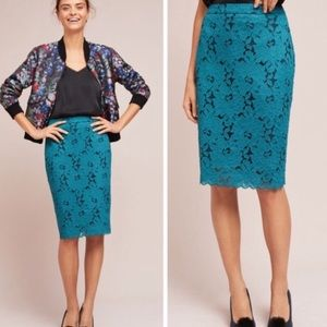 HD In Paris Anisa Lace Pencil Skirt